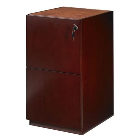 credenza with file drawers mayline luminary 2 drawer vertical wood file pedestal for