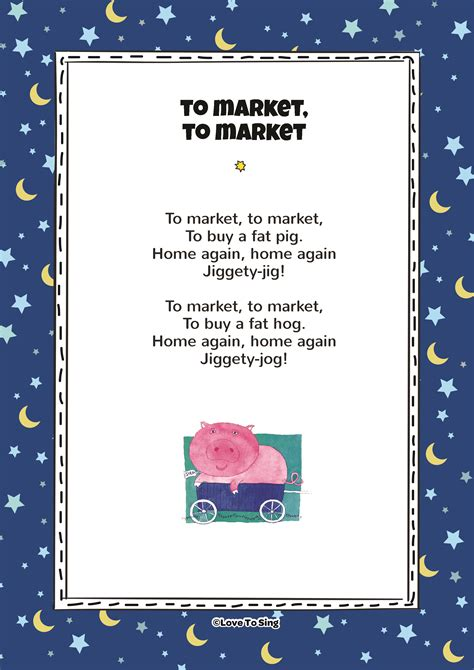 To Market by To Market To Market Song With Free Lyrics