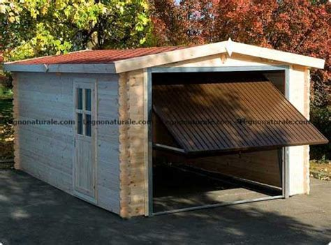 box legno auto il solido box auto in legno per 2 posti auto