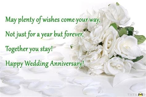 1st 25th Happy Anniversary Wishes by Anniversary Wishes Quotes Messages Images For