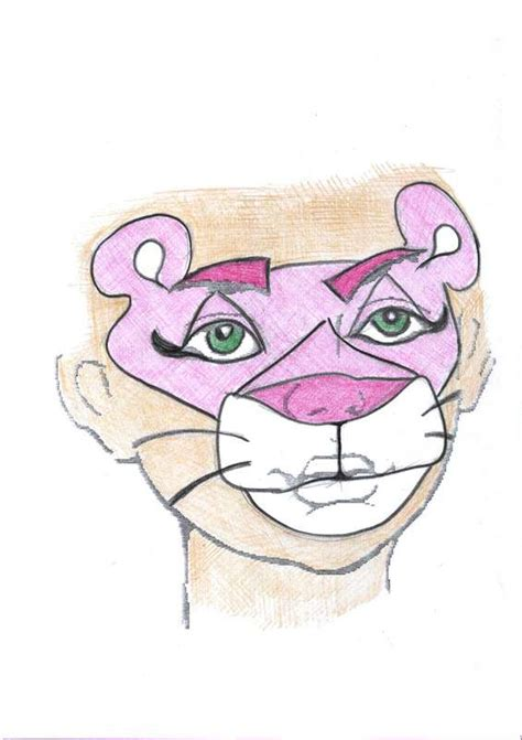 painting pink panther pink panther children youth