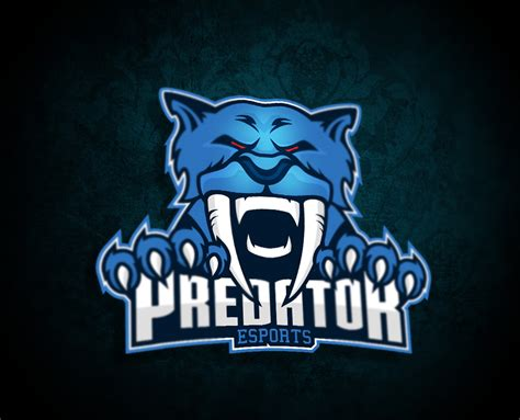 Logo For Predator Esport By Myesportdesign On Deviantart Esport Logo Template