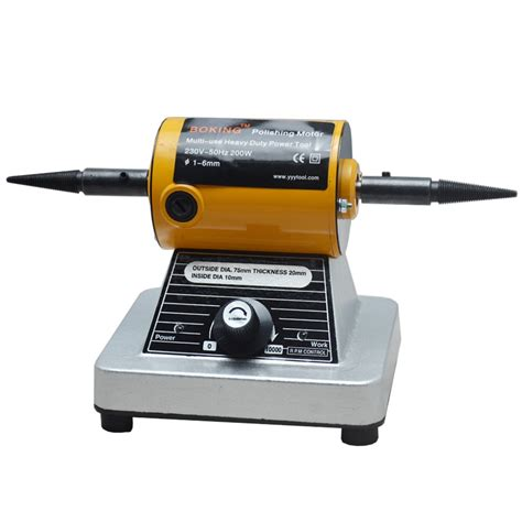 bench polishing machine mini polishing machine for jewelry making tools and machine mini bench grinder with 2