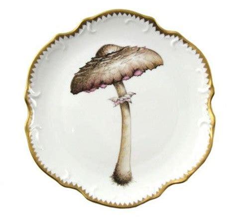 Mixer Jamur plate kitchen forests mushrooms