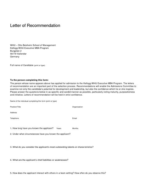Business Format Letter Of Recommendation Business Recommendation Letter Sample Sample Letter With