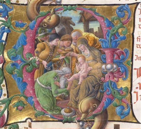 biblioteca lettere siena foto siena nel duomo le pergamene della nativit 224 2 di 8