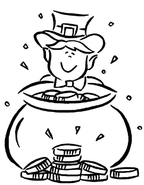 baby leprechaun coloring page leprechaun coloring pages 360coloringpages