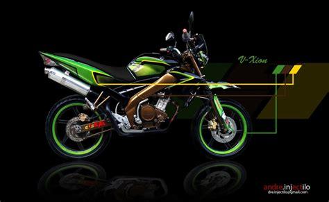 Shockbreaker Vixion Gamgar Modifikasi Yamaha Vixon Sport Style Gambar Foto