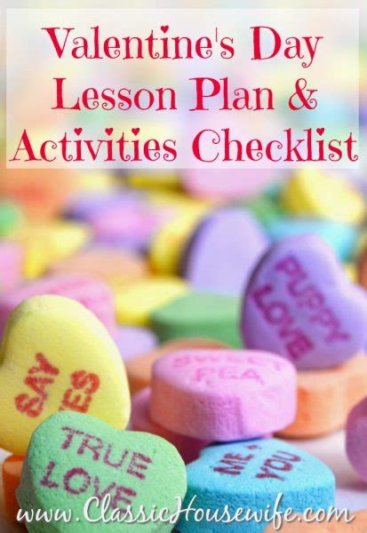 valentines day lesson plans the complete s day lesson plan checklist