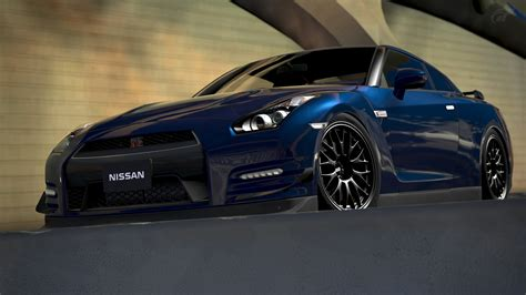 nissan gtr black edition blue nissan gt r black edition gran turismo 6 by