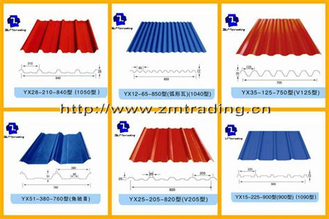 Types Of Sheets | double layer rolling machine types of roof sheet roll forming machine view types of roof sheet