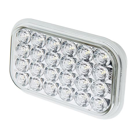 led back up lights rectangle led truck and trailer back up light 5 quot led