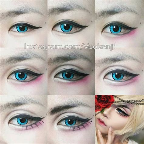 tutorial makeup cosplay 164 best cosplay make up images on pinterest cosplay