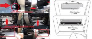 Toyota Tacoma Cabin Air Filter Toyota Tacoma X Runner Cabin Air Filter Location