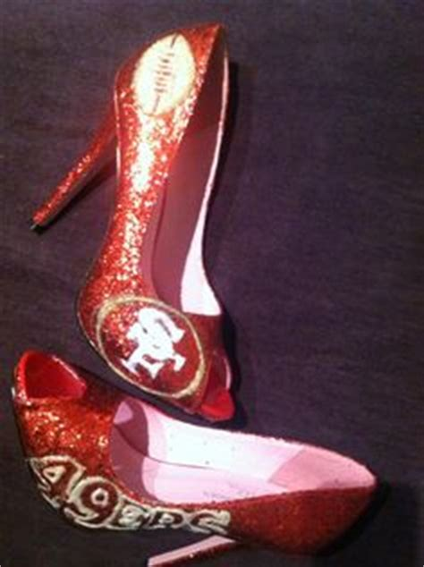 49er high heels for sale niners shoes