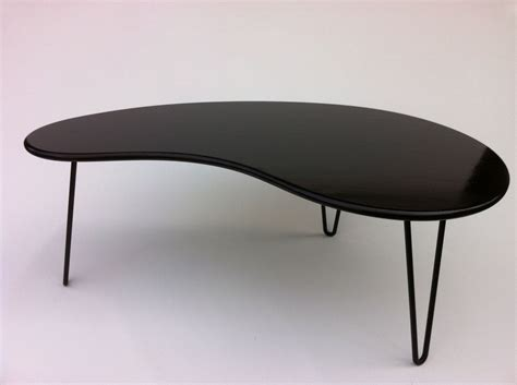 buy a crafted black mid century modern coffee table
