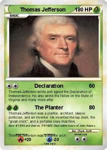 pok 233 mon thomas jefferson 4 4 declaration my pokemon card