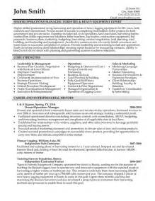 Resume Samples Management by Senior Operations Manager Resume Template Premium Resume