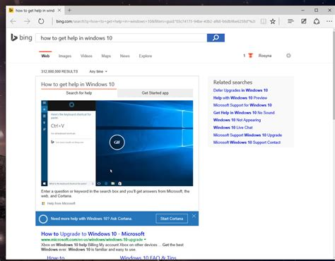 Uk Search For Without Logging In New Windows Preview Cortana Without Microsoft Account Log Ins Ortc In Edge Ars