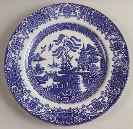 english willow pattern english ironstone blue willow at replacements ltd