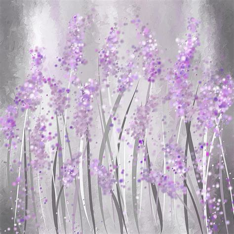 lavendar paint lavender art painting by lourry legarde