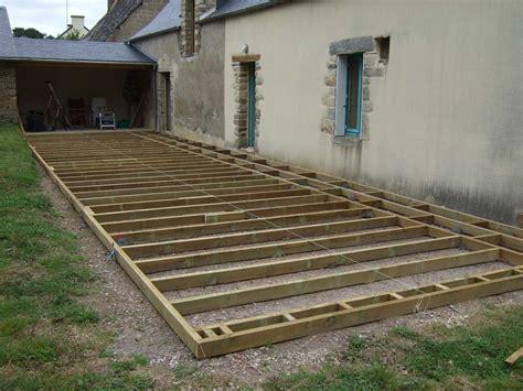 comment faire une terrasse en bois pas cher 2845 faire une terrasse pas chere dudew