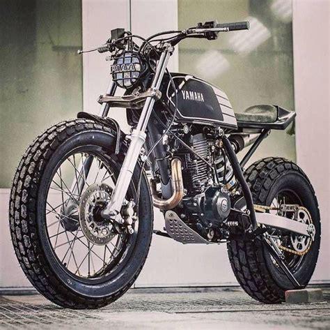 Motorrad Yamaha Tw200 by Yamaha Tw200 Street Tracker Pinterest Speicher