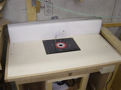 pdf diy router table insert plans second