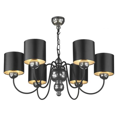 Black Ceiling Lighting Pewter And Black Ceiling Light Garbo Chandelier Mosaic Pewter