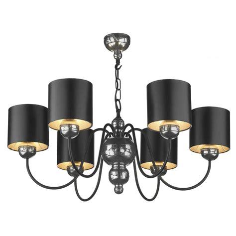 Pewter And Black Ceiling Light Garbo Chandelier Gothic Black Ceiling Lights