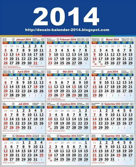 Kalender For 2014 Desain Kalender 2014 Kalender 2014