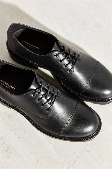 vagabond oxford shoes lyst vagabond kenova oxford in black