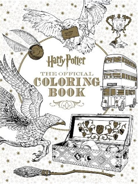harry potter coloring book chile harry potter the official coloring book by scholastic