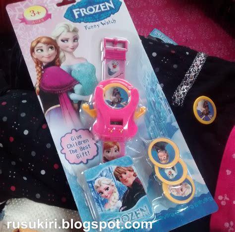 Jam Dompet Anak Frozen Jam Anak ayah senang kena pau dengan anak anak hanim