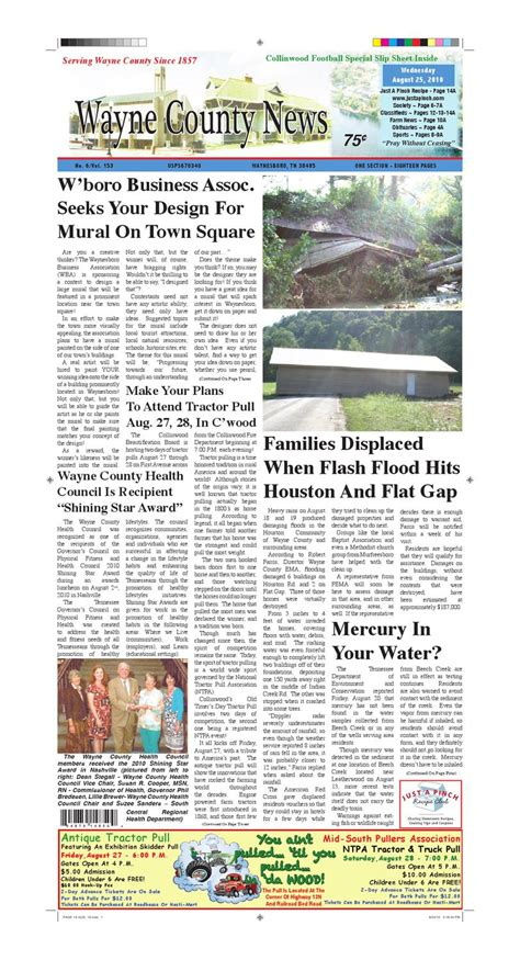 wayne county section 8 wayne county news 08 25 10 by chester county independent