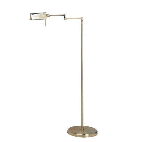 illumine 55 in antique brass floor l cli ls960232
