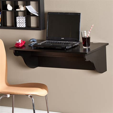 desk laptop mount space saving trick wall mounted laptop desk review and