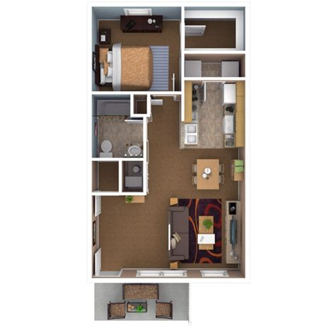One Bedroom Apartment Design Apartments In Indianapolis Floor Plans