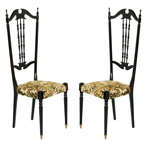 chiavarine sedie coppia sedie chiavarine anni 50 chiavari chairs black