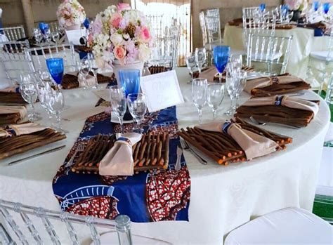 African Traditional wedding decor by Shonga Events