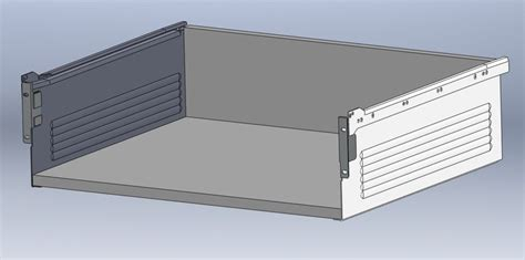 Metabox Drawer by Blum Metabox Drawers Stl Solidworks 3d Cad Model