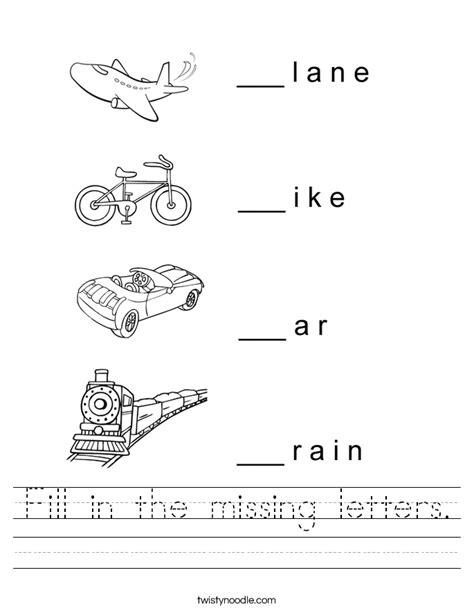 missing letters worksheet letter alistairtheoptimist