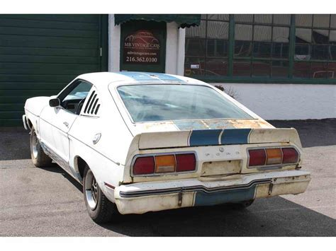 76 mustang for sale 1976 ford mustang cobra for sale classiccars cc 968196