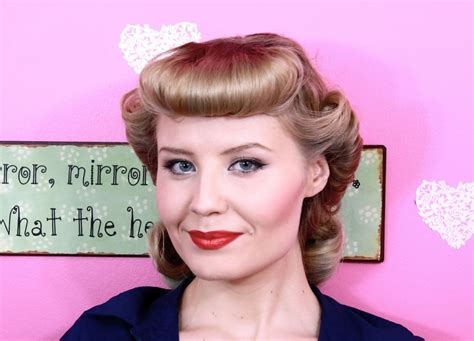 Easy Pin Up Hairstyles With Bangs by 18 Best Easy To Make Pin Up Hairstyles With Bangs That