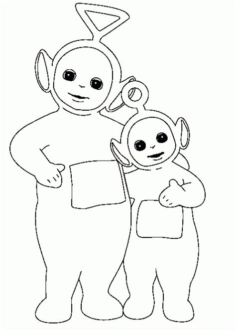 Free Printable Teletubbies Coloring Pages For Kids Color Pages Printable