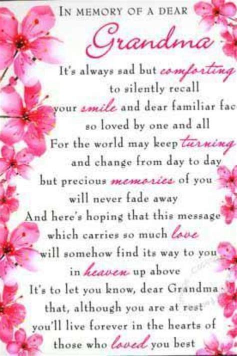 I You Happy Birthday Quotes Best 25 Grandmother Poem Ideas On Pinterest A Poem