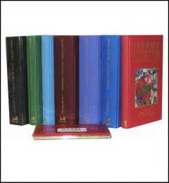 Herry Potter Complete Set Bloomsbury harry potter harry potter complete set deluxe 7 vol by j k rowling deluxe bloomsbury