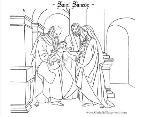 24 best images about sunday school simeon and anna on