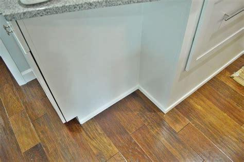 trim around kitchen cabinets cabinet floor trim modern style home design ideas