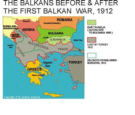 Ottoman Empire Balkans Balkan Wars 1912 1913 Chronozoom Learnncabmc